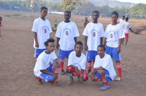 Girl Fottball team